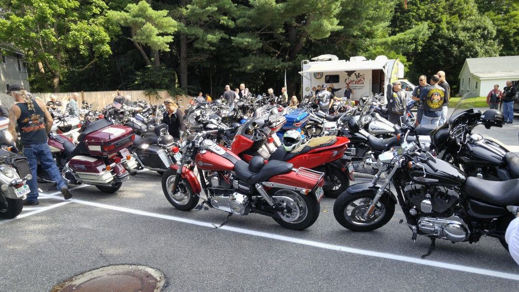 Big Scootie with the big dogs.jpg